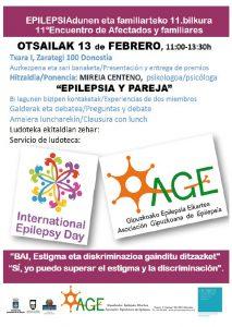 folleto 11º encuentro entre Afectados y Familiares